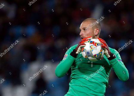Editorial photo of Montenegro Nations League Soccer, Belgrade, Serbia - 17 Nov 2018