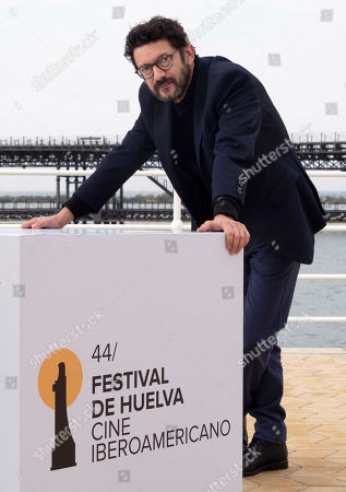 Manolo Solo poses for photographers prior to receiving the 'Luz' award at the Ibero-American Film Festival in Huelva, southern Spain, 17 November 2018. The festival runs 16 to 23 November.