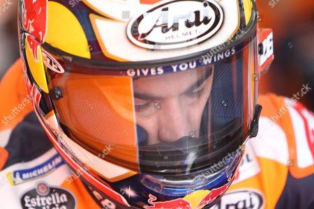 #26 Dani Pedrosa, Spanish: Repsol Honda during the MotoGP Round 19 Gran Premio Motul de la Comunitat Valenciana Circuit Ricardo Tormo, Cheste, Valencia. Picture by Graham Holt