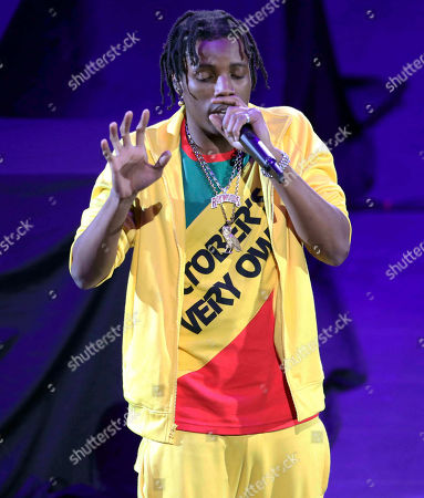Roy Woods, Denzel Spencer. Roy Woods performs during the Aubrey & the Three Migos Tour at State Farm Arena, in Atlanta