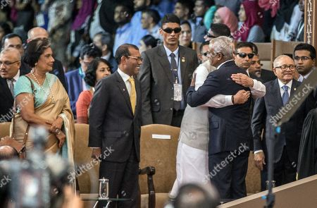 Editorial photo of Maldive's New President Ibrahim Mohamed Solih's swearing-in ceremony in Male, Maldives - 17 Nov 2018
