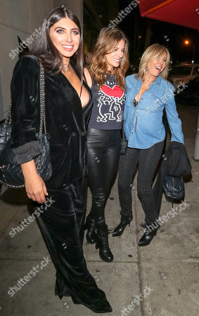 Editorial photo of Celebrities at Craig's Restaurant, West Hollywood, Los Angeles, USA - 16 Nov 2018