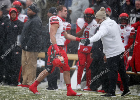 Chase Hansen, chase Hansen. Utah linebacker Chase Hansen, left, heads off the field after he was ejected for targeting while sacking Colorado quarterback Steven Montez in the first half of an NCAA college football game, in Boulder, Colo