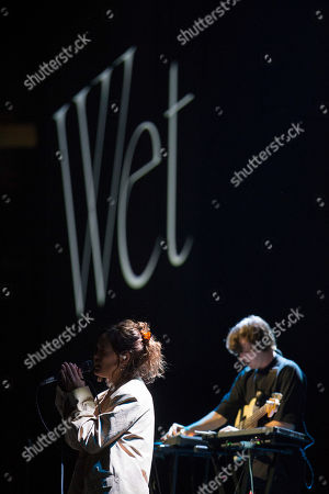 Editorial image of Wet in concert at the Hydro, Glasgow, Scotland, UK - 17th November 2018