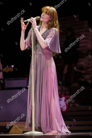 Florence and the Machine in concert at the Hydro, Glasgow