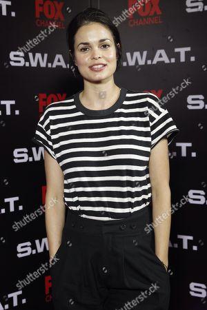 Editorial image of S.W.A.T. season 2 premieres in Mexico City - 17 Nov 2018