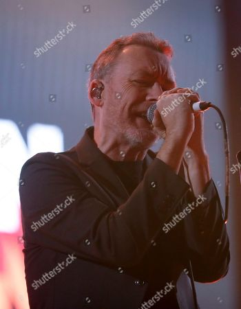 Jim Reid, lead singer of Jesus and Mary Chain, performs during the Corona Capital music festival in Mexico City