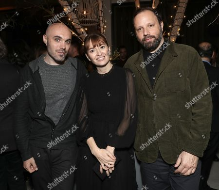 Fox Searchlight holiday party, Arrivals, Los Angeles