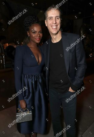 Stock Image of Tika Sumpter and James D. Stern