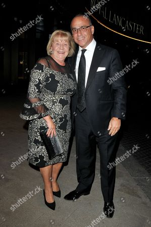 Editorial photo of The Willow Ball, Royal Lancaster Hotel, London, UK - 17 Nov 2018