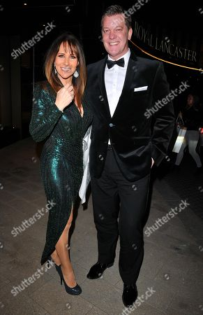 Stock Picture of Linda Lusardi and Samuel Kane