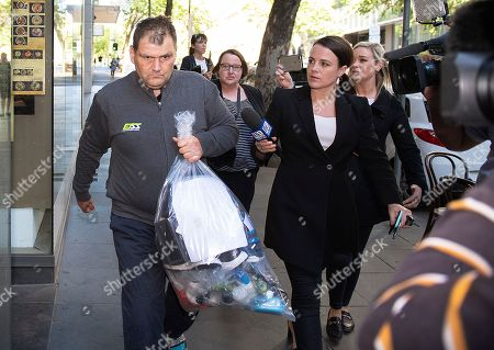 Editorial picture of Trolley Man, homeless man hailed as hero in Melbourne attack appears in court, Australia - 17 Nov 2018