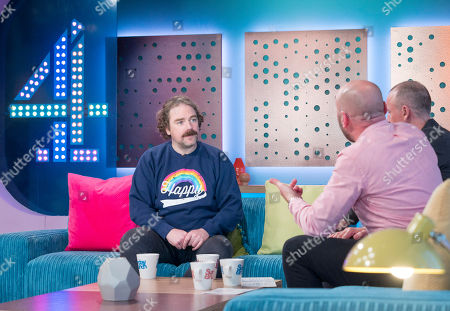 Rufus Hound, Tim Lovejoy and Simon Rimmer