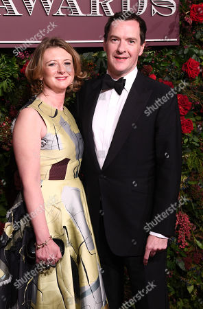 George Osborne with wife Frances Osbourne