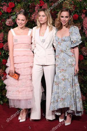 Poppy Jamie, Immy Waterhouse and Suki Waterhouse