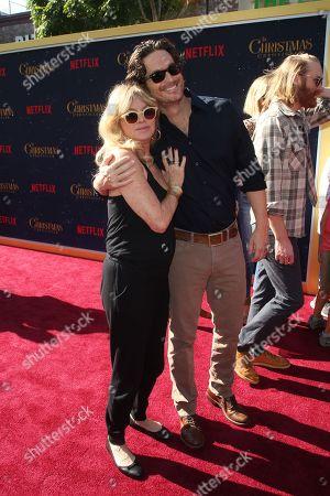 Goldie Hawn, Oliver Hudson