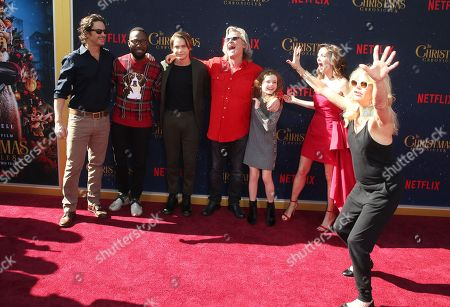 Stock Picture of Oliver Hudson, Lamorne Morris, Judah Lewis, Kurt Russell, Darby Camp, Goldie Hawn, Kimberly Williams-Paisley