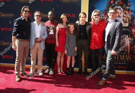 Editorial image of 'The Christmas Chronicles' film premiere, Los Angeles, USA - 18 Nov 2018
