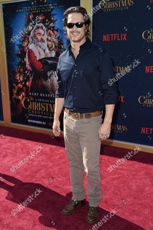 """Stock Photo of Oliver Hudson attends the world premiere of """"The Christmas Chronicles"""" at the Regency Bruin Theatre, in Los Angeles"""