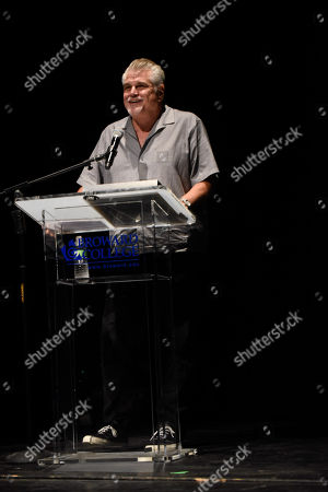 Oscar nominated filmmaker Gary Ross receives the Lifetime Achievement Award at a tribute screening of his 1998 award-winning film, Pleasantville at the 33rd Annual Fort Lauderdale International Film Festival at Bailey Hall, at Broward College in Davie, Florida on Saturday, Nov. 18, 2018
