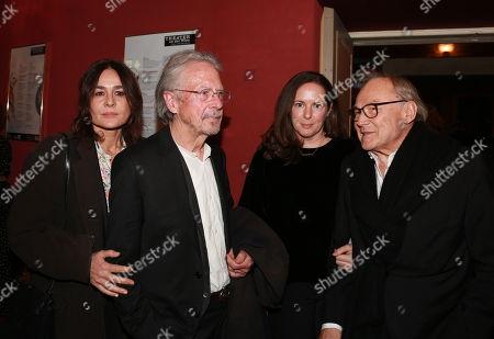 Sophie Semin, Peter Handke, Klaus Maria Brandauer mit Frau