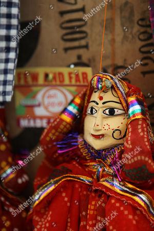 £10 Indian puppets for sale at Priscilla Carluccio's shop 'Few and Far'