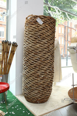 Planter made from natural vines in Thailand, £735