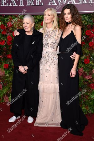 Vanessa Redgrave, Daisy Bevan and Joely Richardson