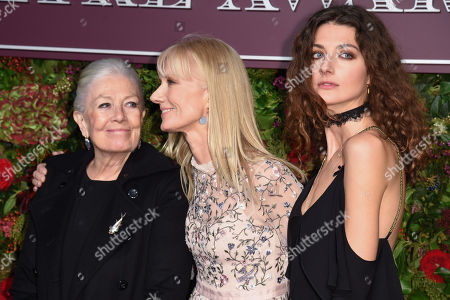 Stock Image of Vanessa Redgrave, Daisy Bevan and Joely Richardson