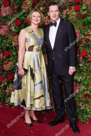 Stock Photo of Frances Osborne and George Osborne