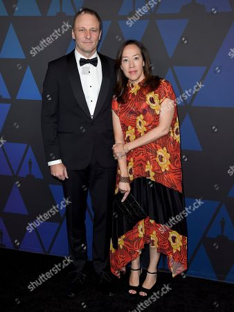 Karyn Kusama, Phil Hay. Karyn Kusama, right, and Phil Hay arrive at the Governors Awards, at the Dolby Theatre in Los Angeles