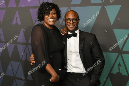 Joi McMillon and Barry Jenkins