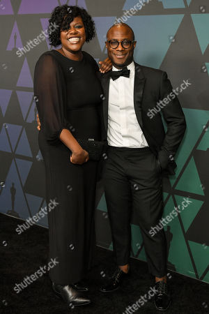 Stock Photo of Joi McMillon and Barry Jenkins