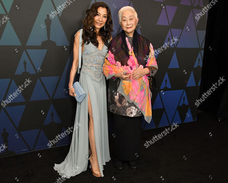 Michelle Yeoh and Lisa Lu