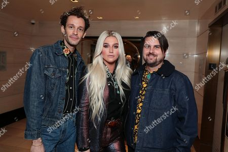 Stephen Wrabel - Songwriter, Kesha and Sage Sebert - Songwriter