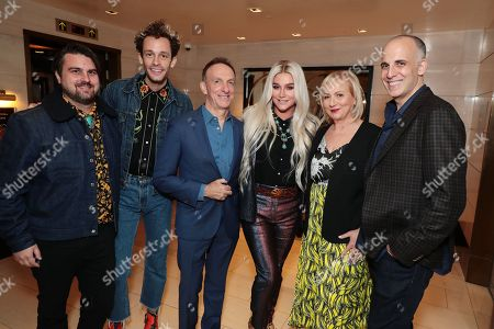 Stock Photo of Sage Sebert - Songwriter, Stephen Wrabel - Songwriter, Mychael Danna - Composer, Kesha, Mimi Leder - Director and Daniel Stiepleman - Writer