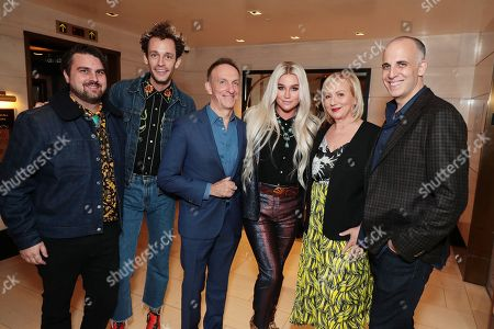 Stock Picture of Sage Sebert - Songwriter, Stephen Wrabel - Songwriter, Mychael Danna - Composer, Kesha, Mimi Leder - Director and Daniel Stiepleman - Writer