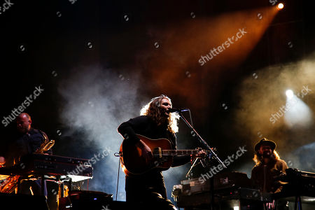 Adam Granduciel, of The War on Drugs, performs on the second day of the Corona Capital music festival in Mexico City
