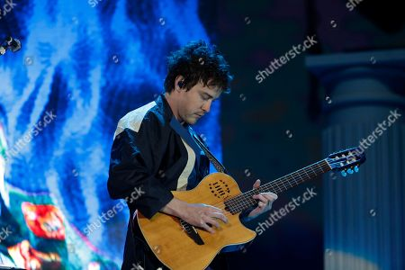 Andrew VanWyngarden of MGMT performs on the second day of Corona Capital music festival in Mexico City
