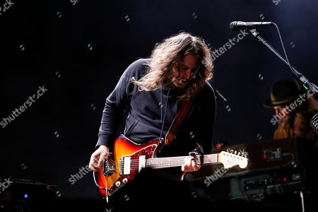 Adam Granduciel of The War on Drugs performs on the second day of the Corona Capital music festival in Mexico City