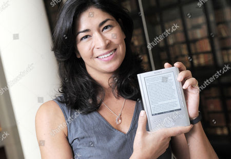 Author Sadie Jones launches the new Sony Touch EditionTM digital book reader.