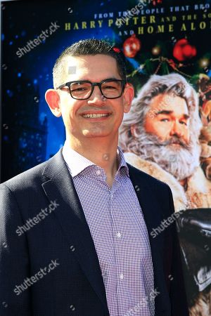 Stock Picture of Clay Kaytis arrives for The Christmas Chronicles' Premiere at the Bruin Theater in Westwood, Los Angeles, California, USA, 18 November 2018. The movie will be released in the US on 22 November 2018.