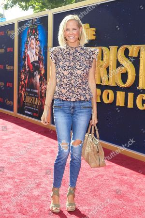 Stock Photo of Erinn Bartlett arrives for The Christmas Chronicles' Premiere at the Bruin Theater in Westwood, Los Angeles, California, USA, 18 November 2018. The movie will be released in the US on 22 November 2018.