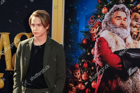 Stock Picture of Judah Lewis arrives for The Christmas Chronicles' Premiere at the Bruin Theater in Westwood, Los Angeles, California, USA, 18 November 2018. The movie will be released in the US on 22 November 2018.