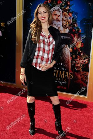 Christy Carlson Romano arrives for The Christmas Chronicles' Premiere at the Bruin Theater in Westwood, Los Angeles, California, USA, 18 November 2018. The movie will be released in the US on 22 November 2018.