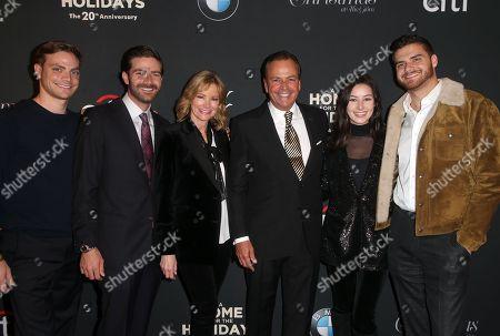 Rick Caruso, Tina Caruso, Greg Caruso, Gianna Caruso, Alex Caruso, Justin Caruso