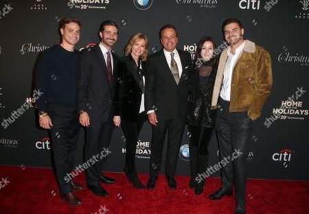 Stock Image of Rick Caruso, Tina Caruso, Greg Caruso, Gianna Caruso, Alex Caruso, Justin Caruso