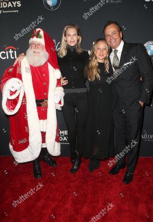 Santa Claus, Sara Foster, Jennifer Meyer, Rick Caruso