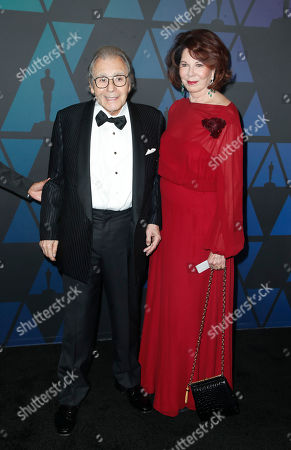 Lalo Schifrin (L) and his wife