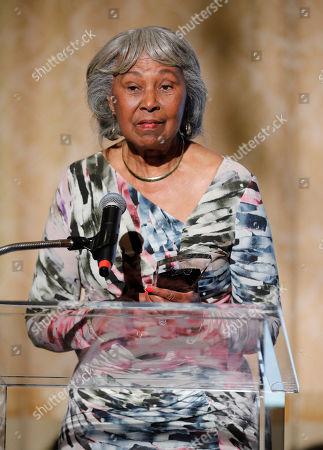Lifetime Achievement Award Winner Mrs. Yvonne Brathwaite Burke